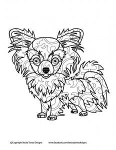 раскраски собаки и щенки распечатать