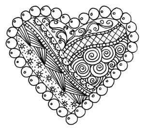 raskraski-valentinov-den раскраски валентинов день бесплатно