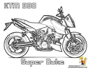 распечатать бесплатно раскраски мотоциклы