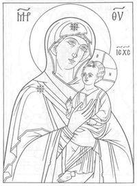 распечатать храм православие чудеса божии раскраски церковь