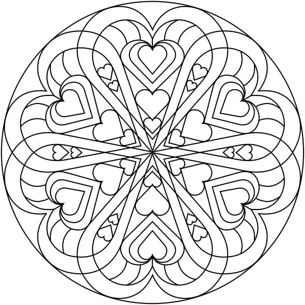 raspechatat-raskraska-dnju-valentina распечатать раскраска дню валентина