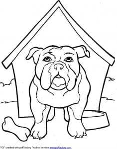 распечатать раскраски для девочек собаки и щенки