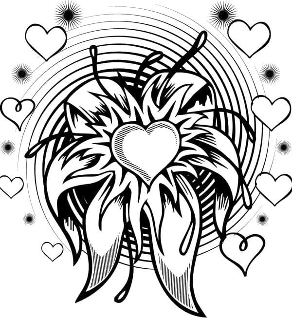 raspechatat-raskraski-valentinov-den распечатать раскраски валентинов день