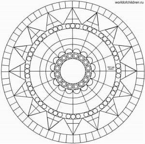 risunok-mandaly-raskrashivat-300x298 Мандалы на белом