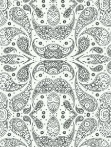узоры и орнаменты распечатать раскраска