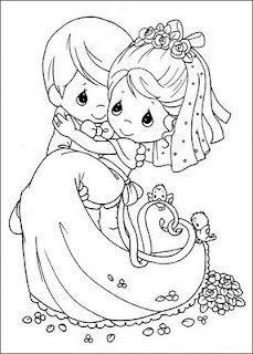 скачать бесплатно свадьба картинки раскраски