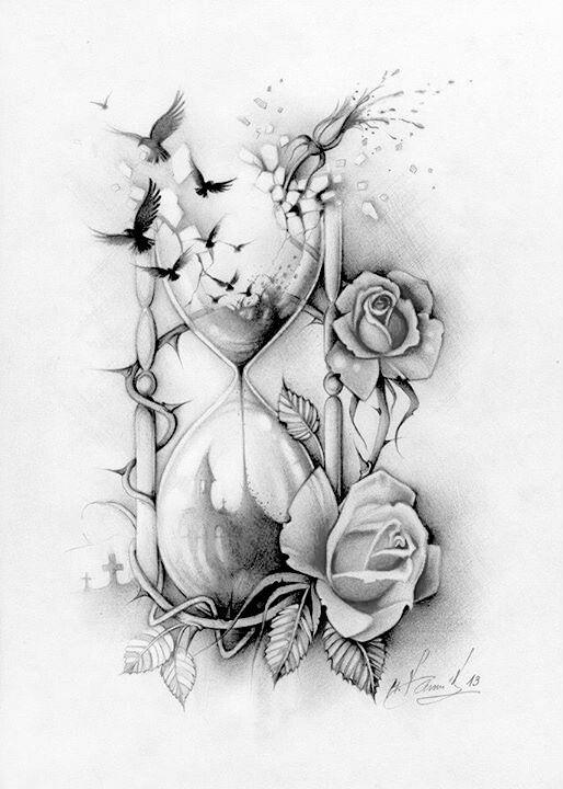 скачать рисунки на бумаге татуировки