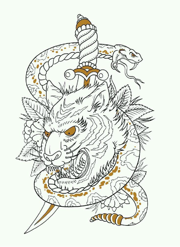 скачать рисунки татуировки красивые