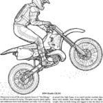 смотреть раскраски про мотоциклы