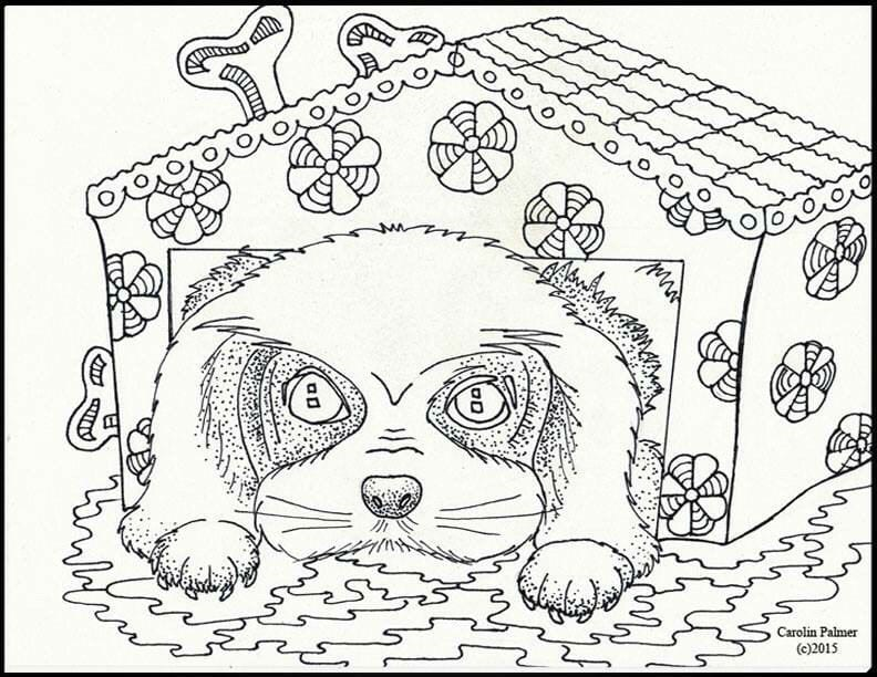 sobaki-dlja-detej-raskraska-kartinka собаки для детей раскраска картинка