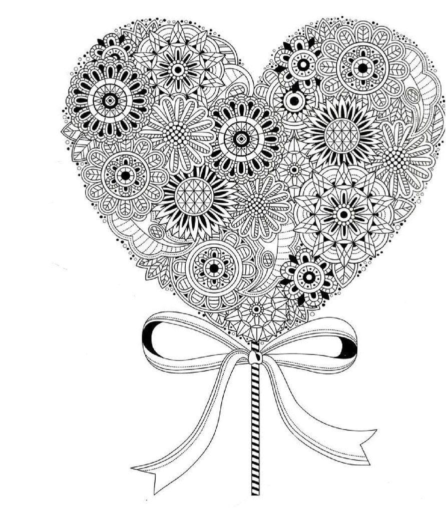 svjatogo-valentina-raspechatat-besplatno-raskraski святого валентина распечатать бесплатно раскраски на день