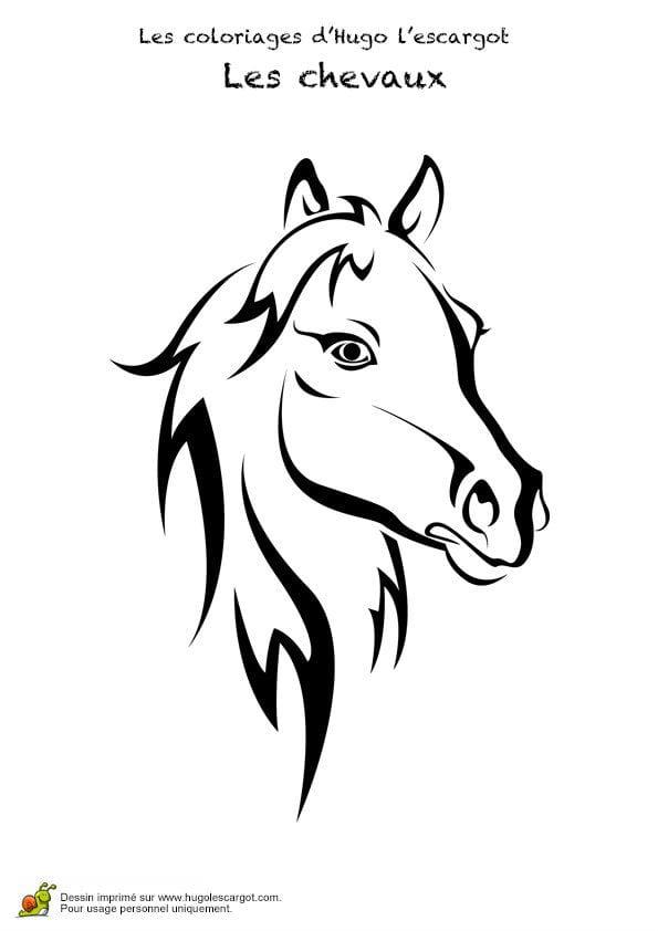 для малышей лошадь раскраска