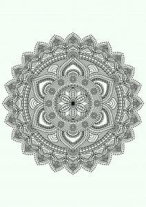 легкие узоры раскраска