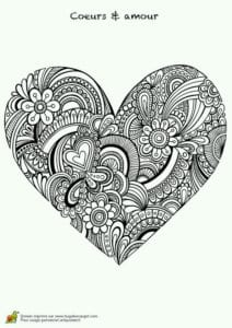 валентин день распечатать бесплатно раскраски на
