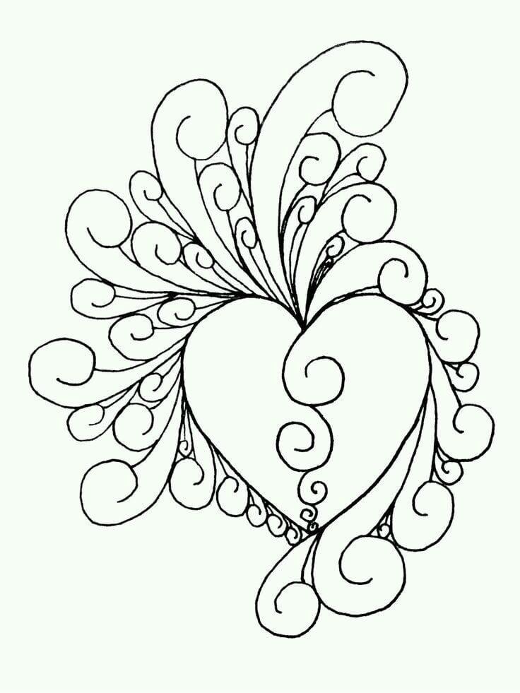 валентина распечатать бесплатно раскраска дню