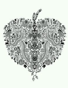 валентина скачать раскраски на день святого