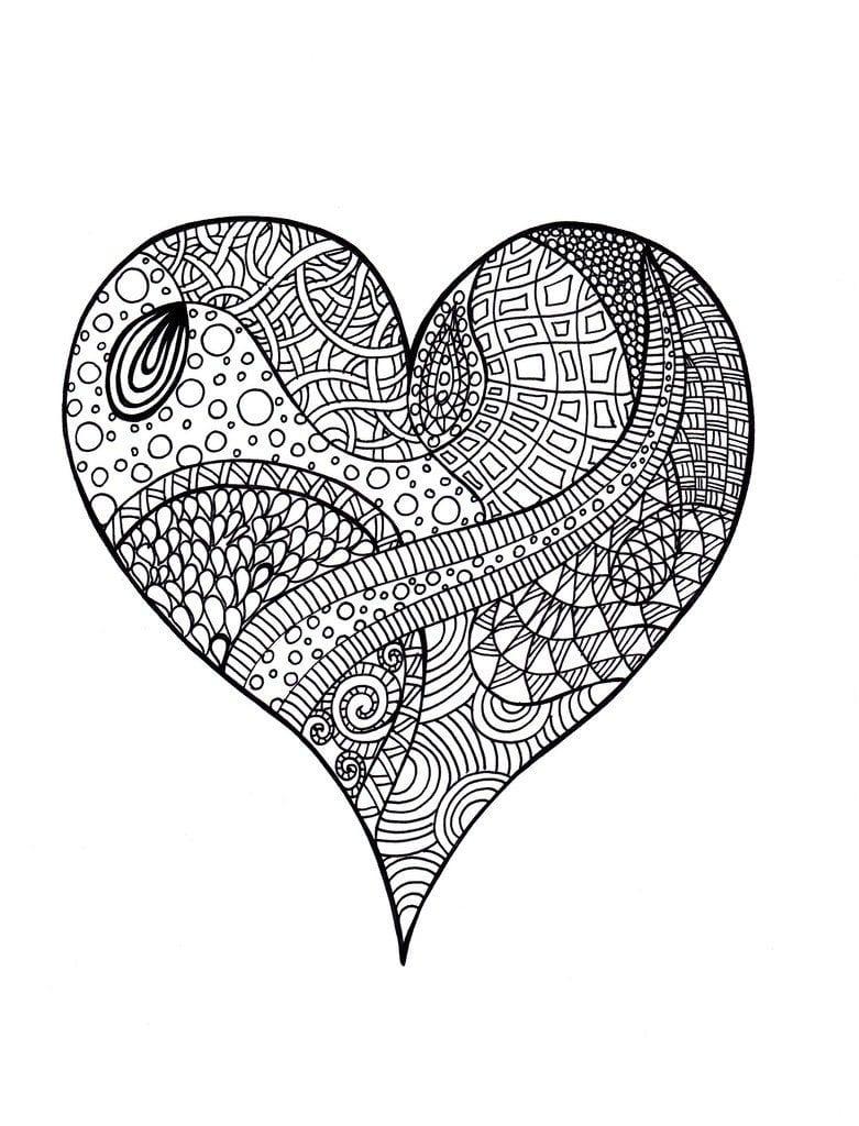 valentinov-den-raskraski валентинов день раскраски