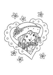 валентинов день распечатать бесплатно раскраски