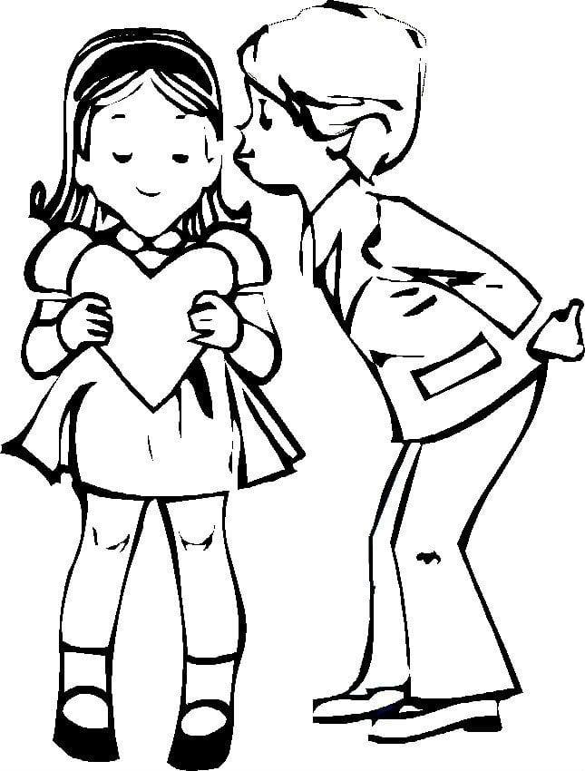 valentinov-den-raspechatat-raskraski валентинов день распечатать раскраски