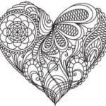 влюбленных скачать раскраски день