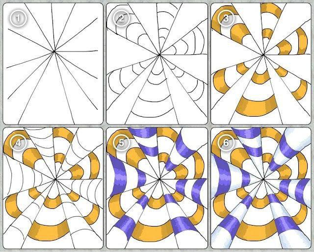 зентаглы пошаговые (146)