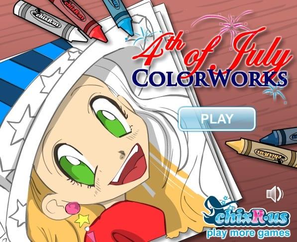 -в-стиле-аниме-1 Раскраски онлайн