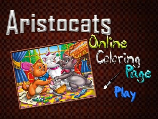 -аристократы-1 Раскраски онлайн