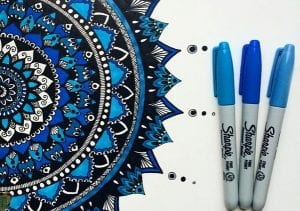 Мандалы и вещи раскраски