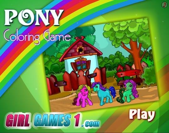 -любимые-пони-1 Раскраски онлайн