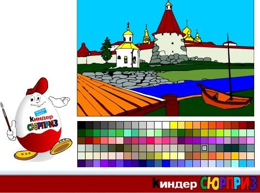 -Древняя-Русь-1 Раскраски онлайн