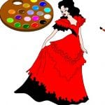 Принцесса в бальном платье