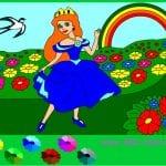 Принцесса в саду