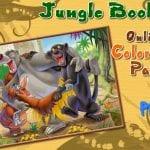 Раскраска Книга Джунглей
