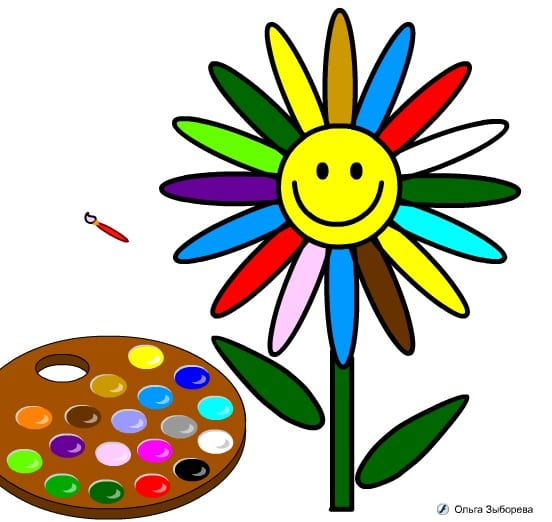 -семицветик-2 Раскраски онлайн