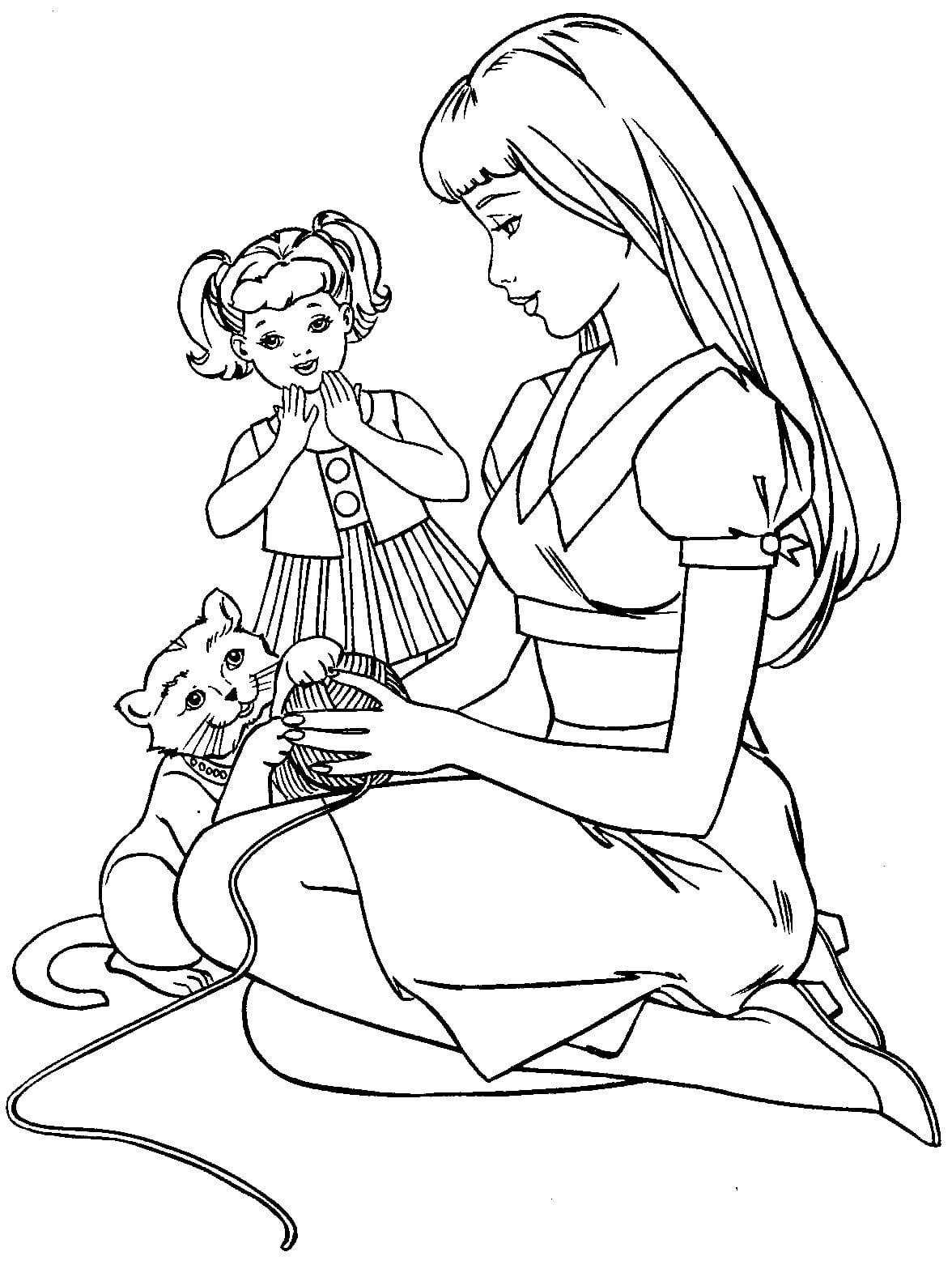 традиційний вишита рисунок мама и дочь раскраска участников тендера