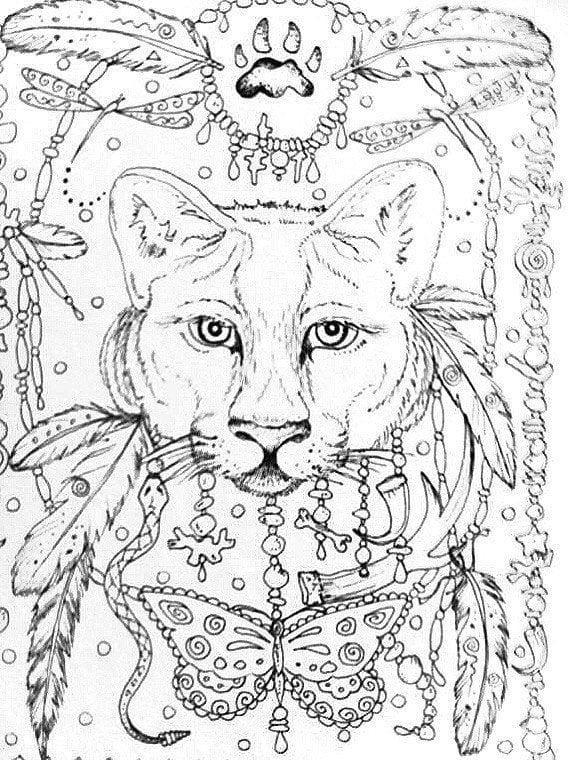 А4 детская раскраска кошка - Рисовака