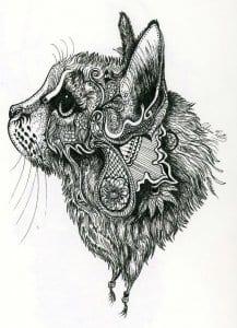А4 необычные раскраски кошек