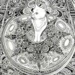 А4 раскраски для девочек кошки распечатать