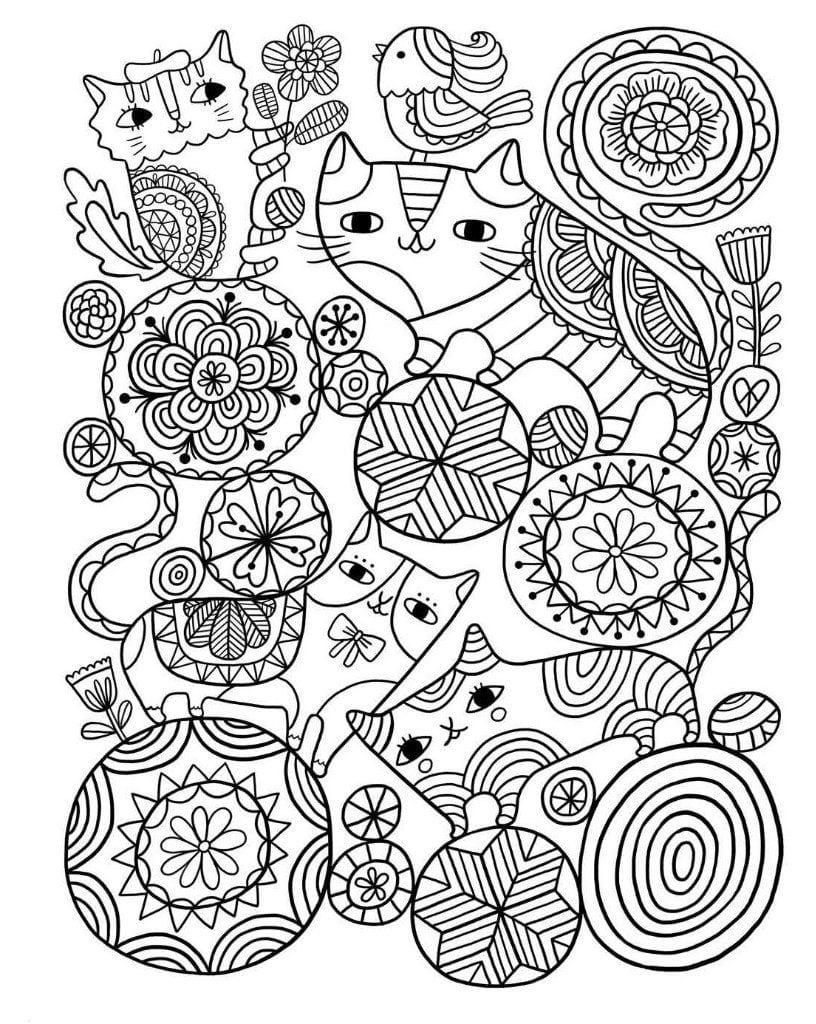 Картинки для релаксации и медитации раскраски