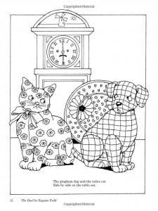 А4 раскраски про кошек и собак