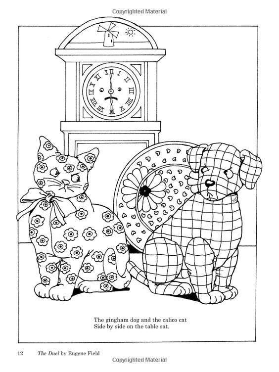 а4 раскраски про кошек и собак рисовака