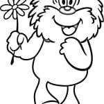 бесплатно и ежик раскраска медвежонок