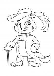 девочек кошки распечатать раскраски для