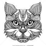 девочек животные кошки раскраска для