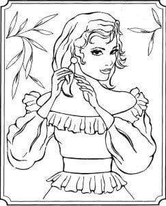 для девочек барби принцессы распечатать новые раскраски