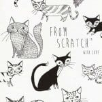 домашние кошки раскраски