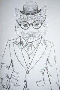 кошки онлайн бесплатно раскраски