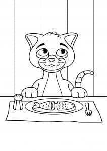 кошки раскраски антистресс