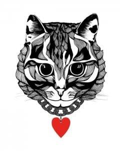 кошки распечатать бесплатно в хорошем качестве раскраска