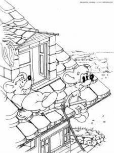 кот леопольд раскраска бесплатно